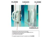 Sliding Glass Door Lock Replacement | Sliding Glass Door Parts