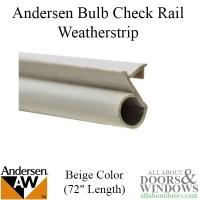 Andersen Window Weatherstrip, Offset Bulb, Narroline, 72 ...