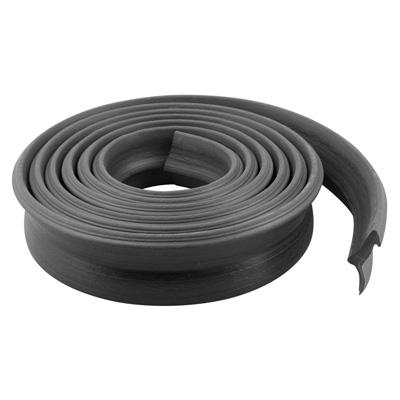 VinylRubber Garage Door Bottom Seal Weatherstrip  Black 10 Feet