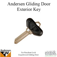 Andersen Frenchwood Gliding Door Exterior Key Blank for ...