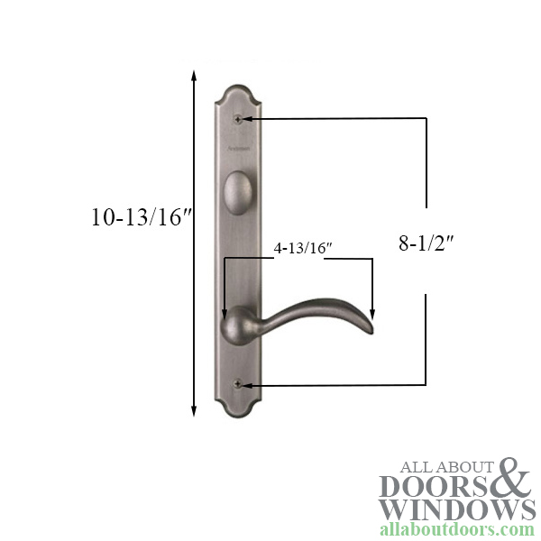 Hardware Kit, Single Door, Encino, Active Door