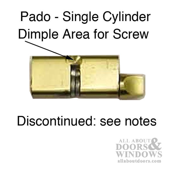 Cylinder Mortise Lock Thumb Turn  Brass