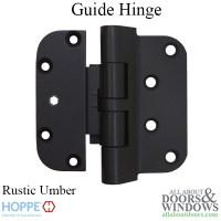 Hoppe F8709, 2009 Guide Hinge - Rustic Umber