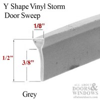 Sweep, Y-shape, Storm Door Expander