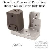 Store Front Commercial Doors Pivot Hinge Kawneer Bottom- RH