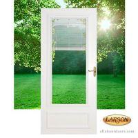 Larson Blinds Between the Glass Storm Door # 400-17