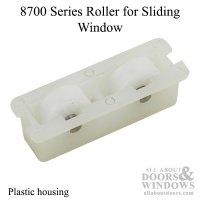 8700 Series Roller, Slider window