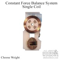 Constant Force Balance System, Single Coil - Choose Weight