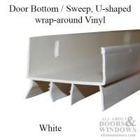 U-Shaped Door Sweep | U-Shaped Door Bottom | All About Doors