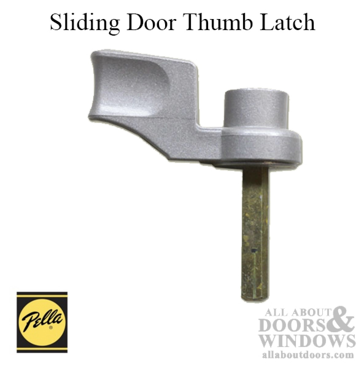 sliding door thumb turn choose color