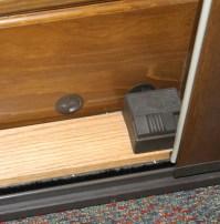 Security Foot bolt, Old Style OX / RH Sliding Door ...