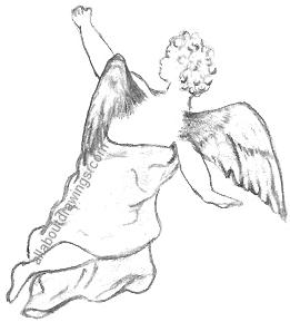 Mystical Drawings of Angels