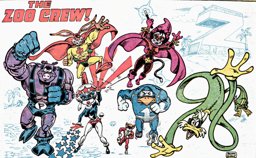 Captain Carrot and the Zoo Crew Return
