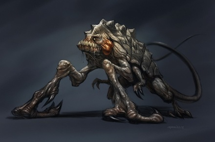 Cloverfield Creature Fan Art