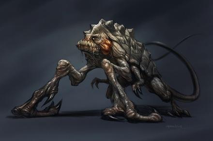 Cloverfield Creature Fan Art
