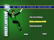 Green Lantern Menu from DC Heroes DVD