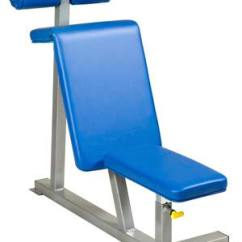 Commercial Gym Roman Chair Human Touch Perfect Replacement Parts Apex Fitness Equipment - Wheel ...