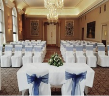 chair cover hire and fitting swivel white wedding covers all about fun uk weddings gloucestershire com are able to offer a choice of styles in different colours for the luxurious tailored finished look