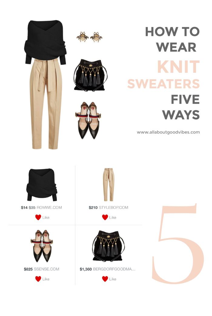 Knit Sweater Five Ways