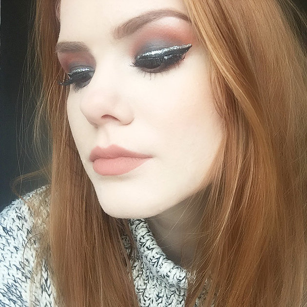 New Year's Eve Party Makeup Ideas x @jess_greenwood