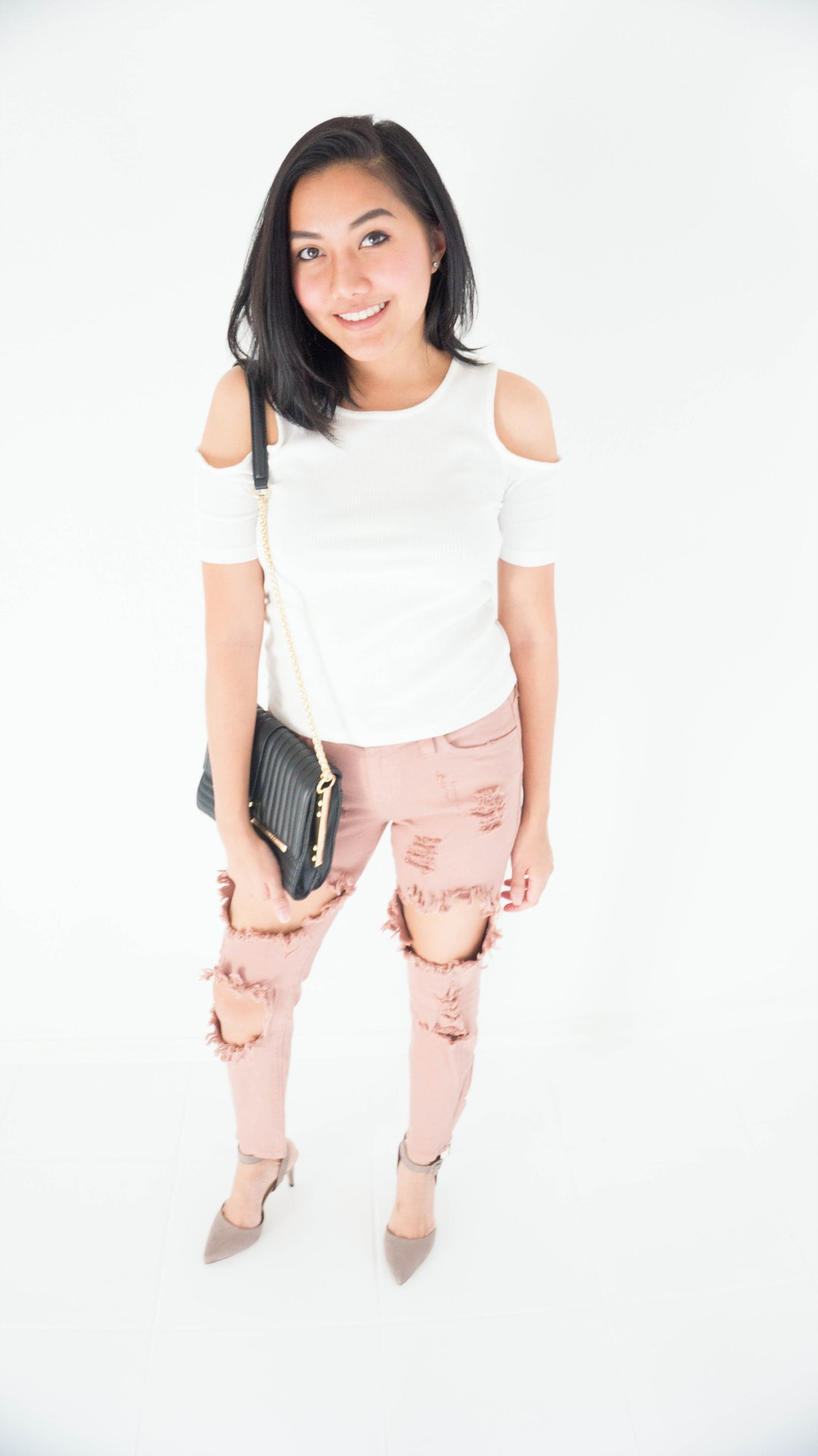 7 Days 7 Outfits | Day 2 Rock The Ripped Jeans