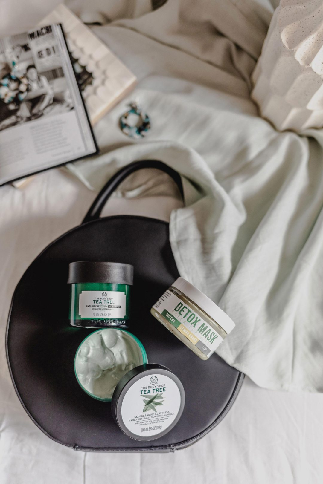 Best Face Masks for All Skin Problems Beauty Flatlay