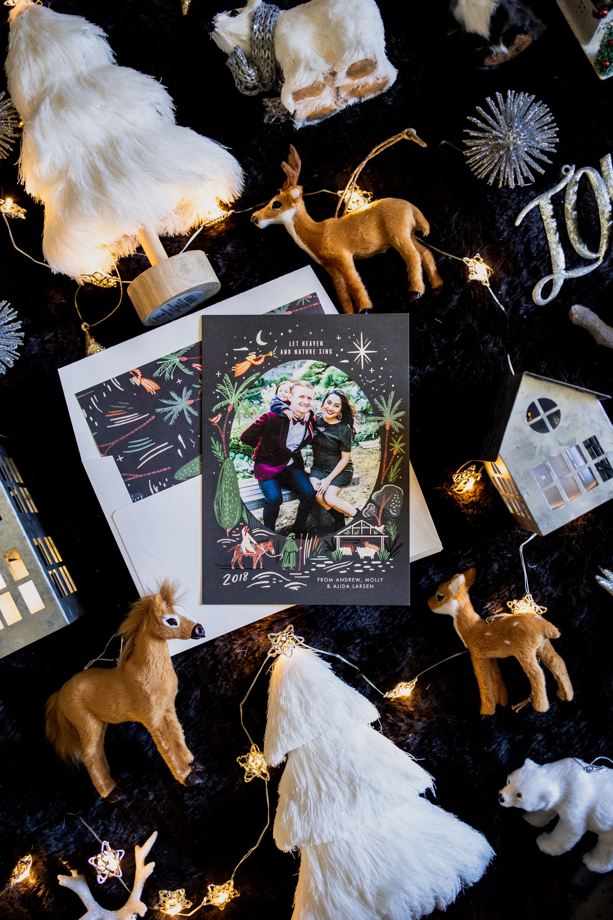 3 Tips to Create A Memorable Personalized Holiday Card with Ease-Allaboutgoodvibes.com_molly Larsen-Beauty Style Blogger-IG @thevibescloset-Minted.com-Christmas card idea_2