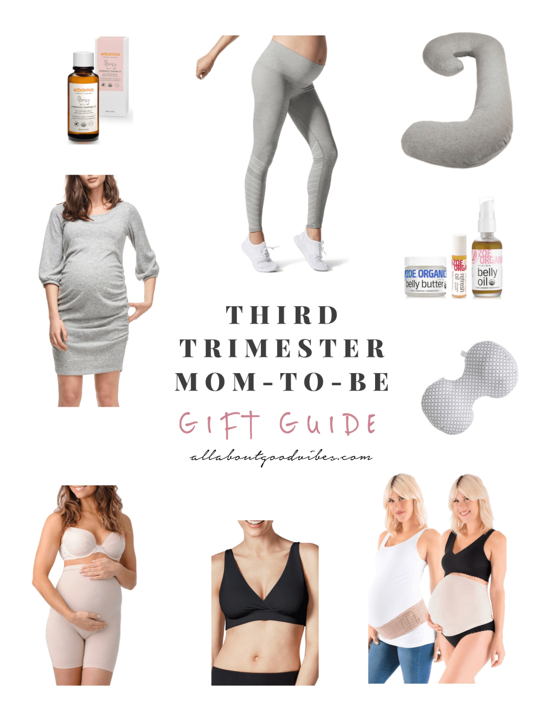 Gift-Guide-for-Third-Trimester-Mom-To-Be_Allaboutgoodvibes.com IG @thevibescloset Molly Larsen Style Blogger