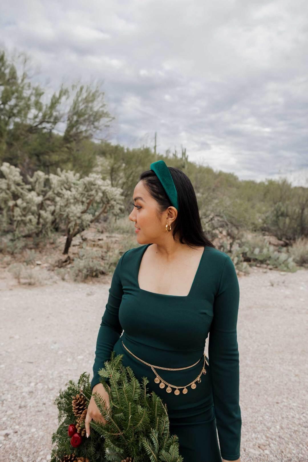 Green Dress, Emerald Green Dress