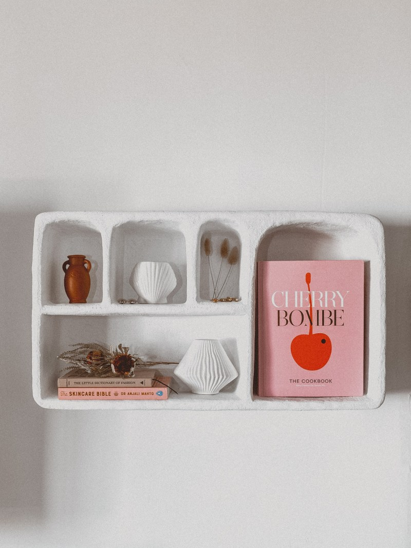 Fifteen Pretty Pink Cover Coffee Table Books