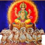 Worshiping The Sun God-Surya