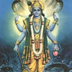 Vishnu Sustains the Universe