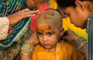young hindu boy