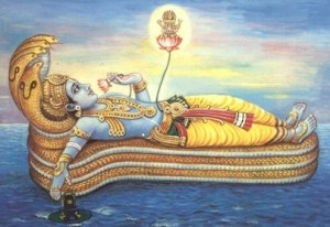 Vishnu on Adi Sesha