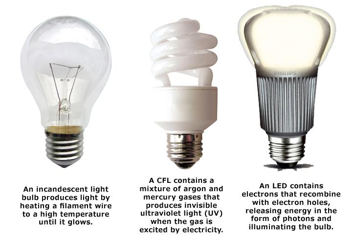 Type Incandescent Light Bulb