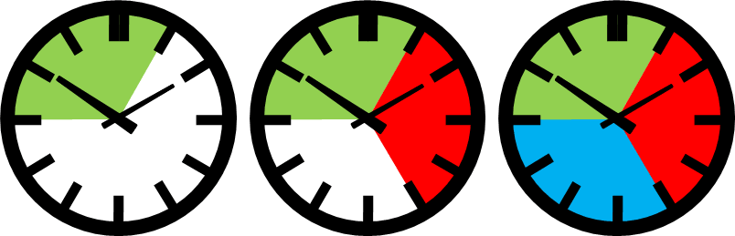 Illustration for shift patterns