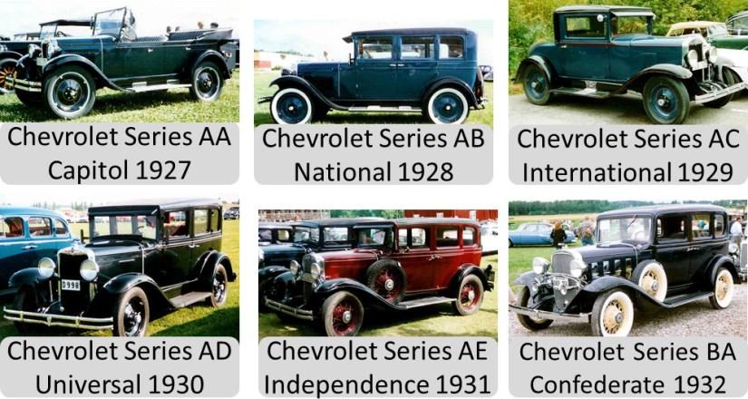Chevrolet Models 1927-1932