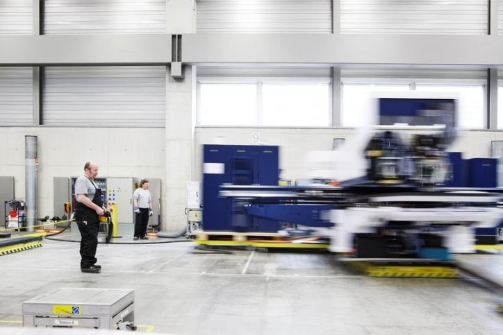 Production at Trumpf