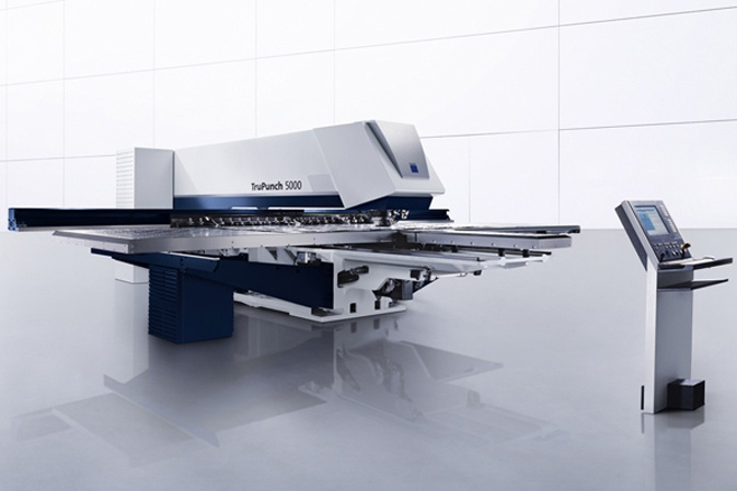 TruPunch 5000 Punch Press by TRUMPF
