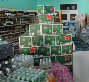 Drinks in Store in Cuba