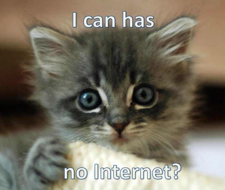 I can has no Internet