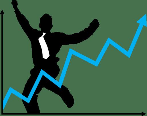 Upward Trend Happy Manager