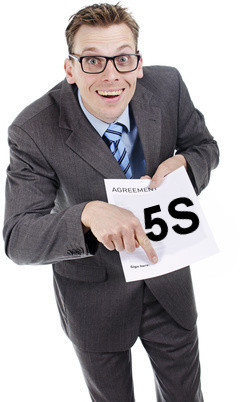 Sneaky 5S Consultant