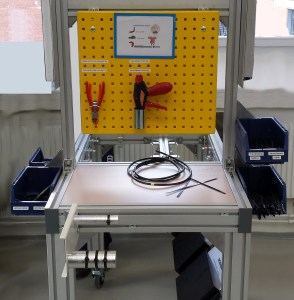 SCANIA Cable Tie Station