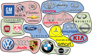 Major Car Makers