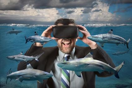 Virtual Reality and Sharks