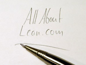 AllAboutLean Pencil