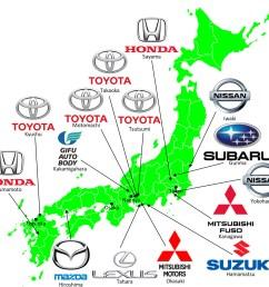 grand tour of japanese automotive map [ 1198 x 1125 Pixel ]