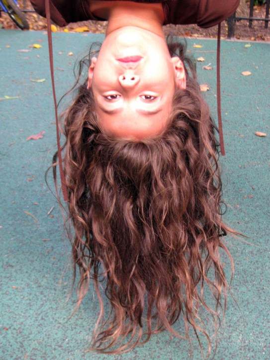 Upside Down Head