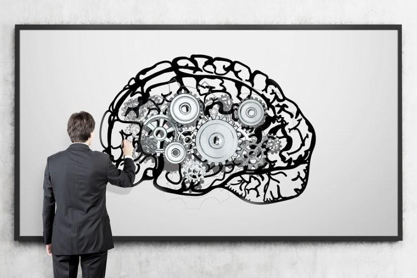 Brain on Whiteboard